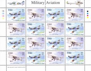 Ireland 2000 Military Aviation Sheet  VF/NH(**)