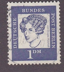 Germany - Berlin # 9N189, Portrait, Used, 1/3 Cat.