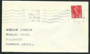 GB SCOTLAND 1970 cover PORT ELLEN / ISLE OF ISLAY machine cancel...........66646