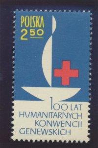 Poland Stamp Scott #1113, Mint Lightly Hinged - Free U.S. Shipping, Free Worl...