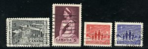 Can #431,433,434as,435   u   VF 1964 PD