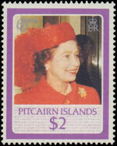 1986 Pitcairn Islands #270-274, Complete Set(5), Never Hinged