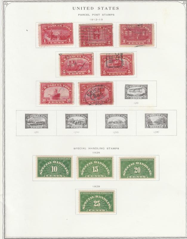 1976 Scott Minuteman Stamp Album With 1,350 Stamps / HipStamp