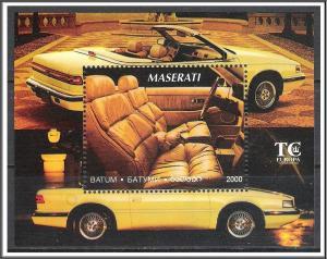Batum 2000 Maserati Souvenir Sheet MNH