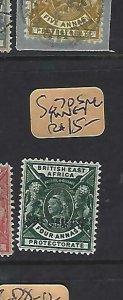 BRITISH EAST AFRICA (P1809B)  LION, QV  4A  SG 70  SPECIMEN   MNG