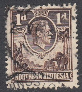 Northern Rhodesia 26a Used CV $6.00