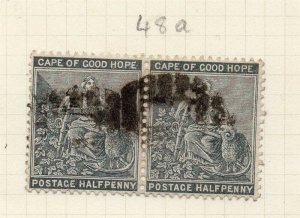 Cape of Good Hope 1884 Early Issue Fine Used 1/2d. 284456