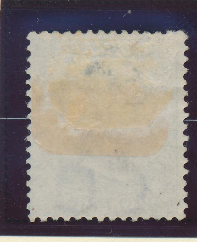 Bermuda Stamp Scott #2, Mint/Unused No Gum, Hinge Remnant, Thin Spot - Free U...