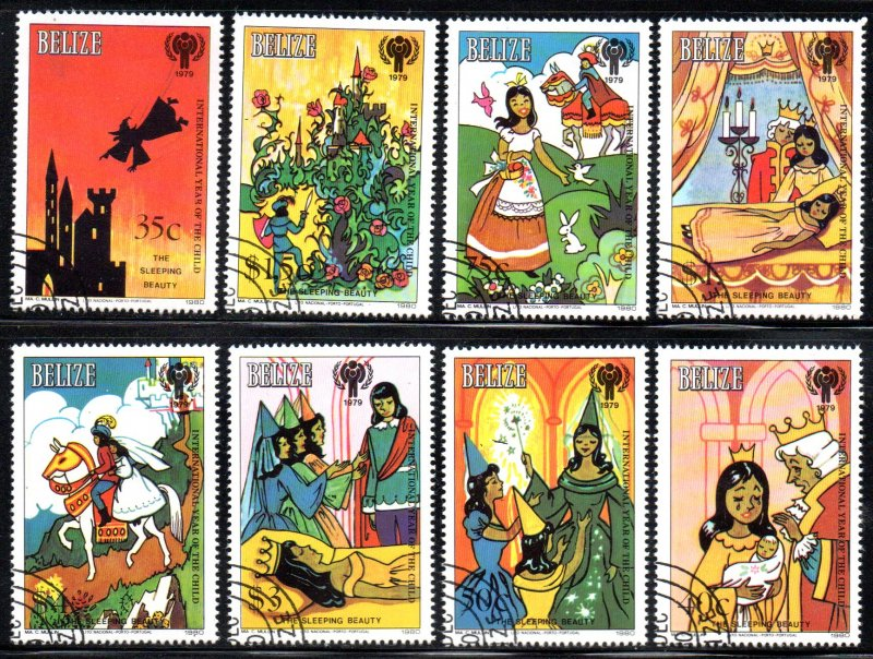 BELIZE 513-20 USED CTO SCV $35.00 BIN $14.00 CHILDREN'S STORY