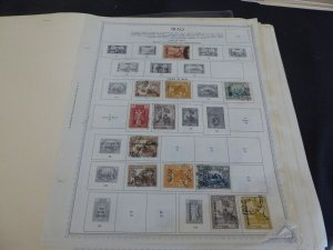 Iraq 1918-1976 Stamp Collection on Album Pages