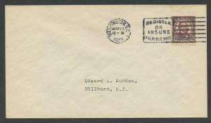 #564 MARCH 20,1923 ON WORDEN FDC CACHET XF WASHINGTON, DC CV $185 BU5681