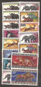 Rwanda SC 55-69 MNH
