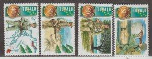 Tuvalu Scott #704-707 Stamps - Mint NH Set