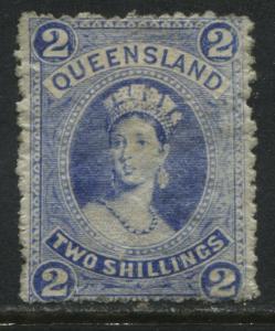 Queensland QV 1882 2/ ultra mint o.g.