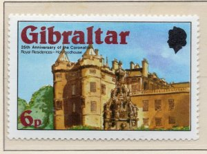 Gibraltar 1978 QEII Early Issue Fine Mint Unmounted 6p. NW-99271