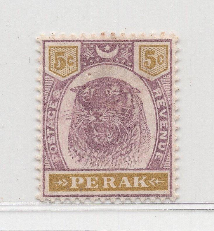 Malaya Perak - 1895-99 - SG70 - 5c - MH #568