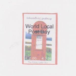 PABAY, British Local - 2006 - World Local Post Day - Perf MNH Single Stamp