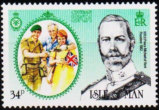 Isle of Man. 1985 34p S.G.299 Unmounted Mint