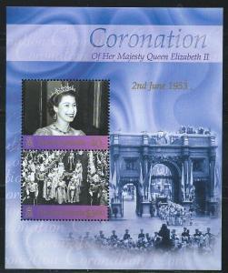 Pitcairn Islands #581 Coronation  S/Sheet (MNH) CV$7.50