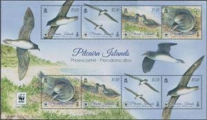 Pitcairn Islands 2016 SG966 Phoenix Petrel sheetlet MNH