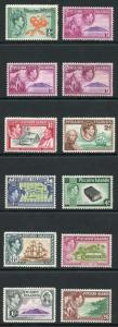 Pitcairn Islands SG1/8 1940 KGVI Set of 10 M/M