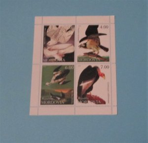 Mordovia (Russian Federation). Unlisted Block of 4, Birds