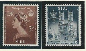 Niue   mnh sc  104-105