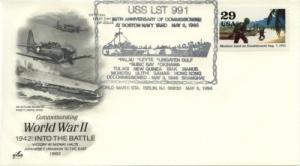 1994 50th Anniv Commissioning LST 991 - Iselin NJ