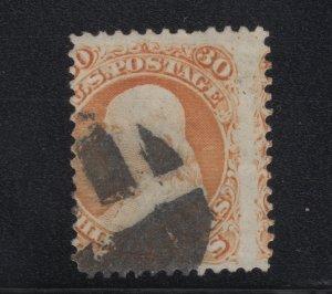 US Stamp Scott #71 Used SCV $210