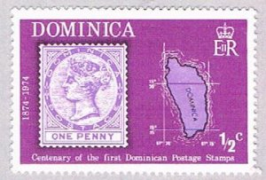 Dominica Stamp half cent (AP103908)