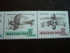 Hungary - Set - Air-Post Semi-Postal Stamps