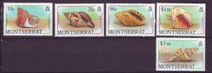 J12039 JL stamps 1988 montserrat mnh from a set #various seashells $11.00+scv