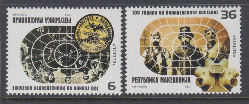 Macedonia 272-273 MNH VF