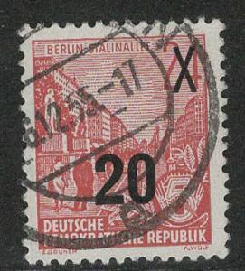 German Democratic Republic Scott # 220, postally used