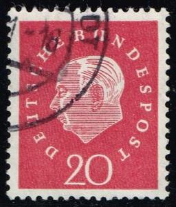 Germany #795 Theodor Heuss; Used (0.25)