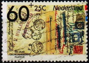 Netherlands. 1984 60c+25c. S.G.1443 Fine Used