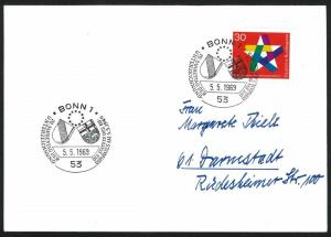 Germany – 1969 Event Cover with Sc#995