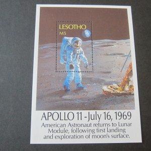 Lesotho 1989 Sc 739 space set MNH