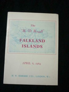 HARMER'S AUCTION CATALOGUE 1964 FALKLAND ISLANDS THE 'MD MAYALL' COLLECTION