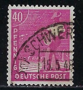 Germany AM Post Scott # 568, used