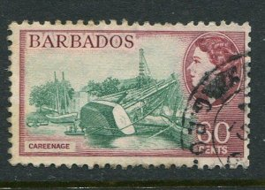 Barbados #245 Used