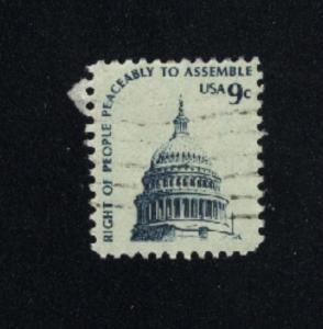 USA #1591  1  used  1975-81 PD .08