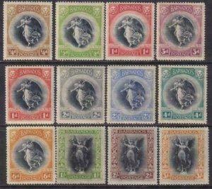 Barbados 1920 SC 140-151 MLH Set