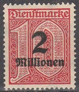 Germany #O38  MNH (K1756)