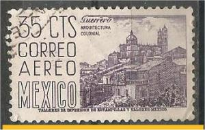 MEXICO, 1950, used 35c, Definitive Scott C191