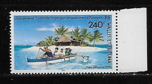 Wallis and Futuna Islands C188 Outrigger Canoe Championships single MNH