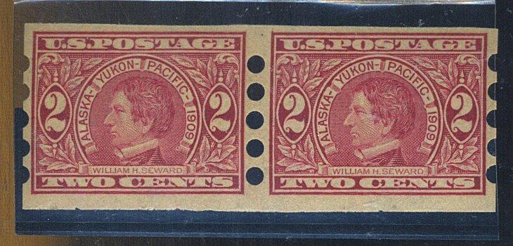 371 MINT Mail O Meter Type 4 Pair F-VF OG LH Cat$400