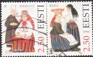Estonia #303-304  Used