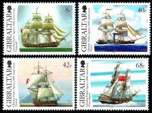Gibraltar MNH 1173-6 Sailing Ships 2006
