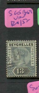 SEYCHELLES  (P2605B)  QV   13C    SG  5    B64        VFU